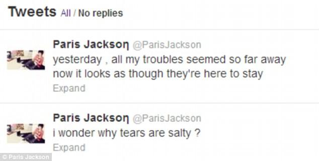 Πάρις Τζάκσον: Ανησυχητικά σημάδια στo χέρι της πριν την απόπειρα