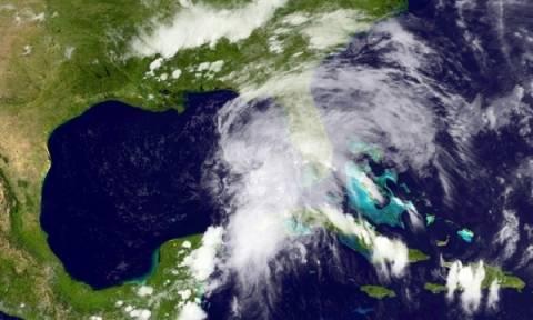 Εξασθένησε η πρώτη τροπική καταιγίδα του 2013...