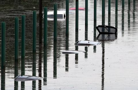Καταρρακτώδεις βροχές και πλημμύρες στην Ελβετία