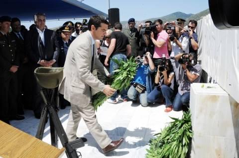Τσίπρας: Ιστορικό χρέος η διεκδίκηση των πολεμικών αποζημιώσεων