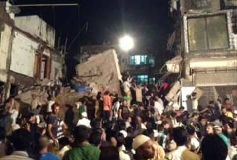 Ινδία: Κατάρρευση πολυώροφου κτηρίου στη Βομβάη