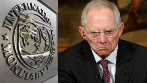 Σόιμπλε: Να χωρίσουμε τα «τσανάκια» μας με το ΔΝΤ