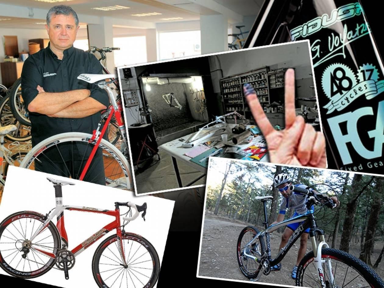 Fidusa: Μια από τις λίγες εταιρείες που φτιάχνουν χειροποίητα ποδήλατα