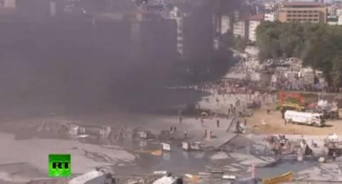 Δείτε LIVE - Τουρκία: Πεδίο μάχης η πλατεία Ταξίμ