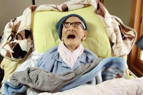 Πέθανε στην Ιαπωνία ο γηραιότερος άνθρωπος του κόσμου