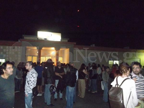 Συγκεντρώσεις σε Χανιά και Ηράκλειο για το κλείσιμο της ΕΡΤ