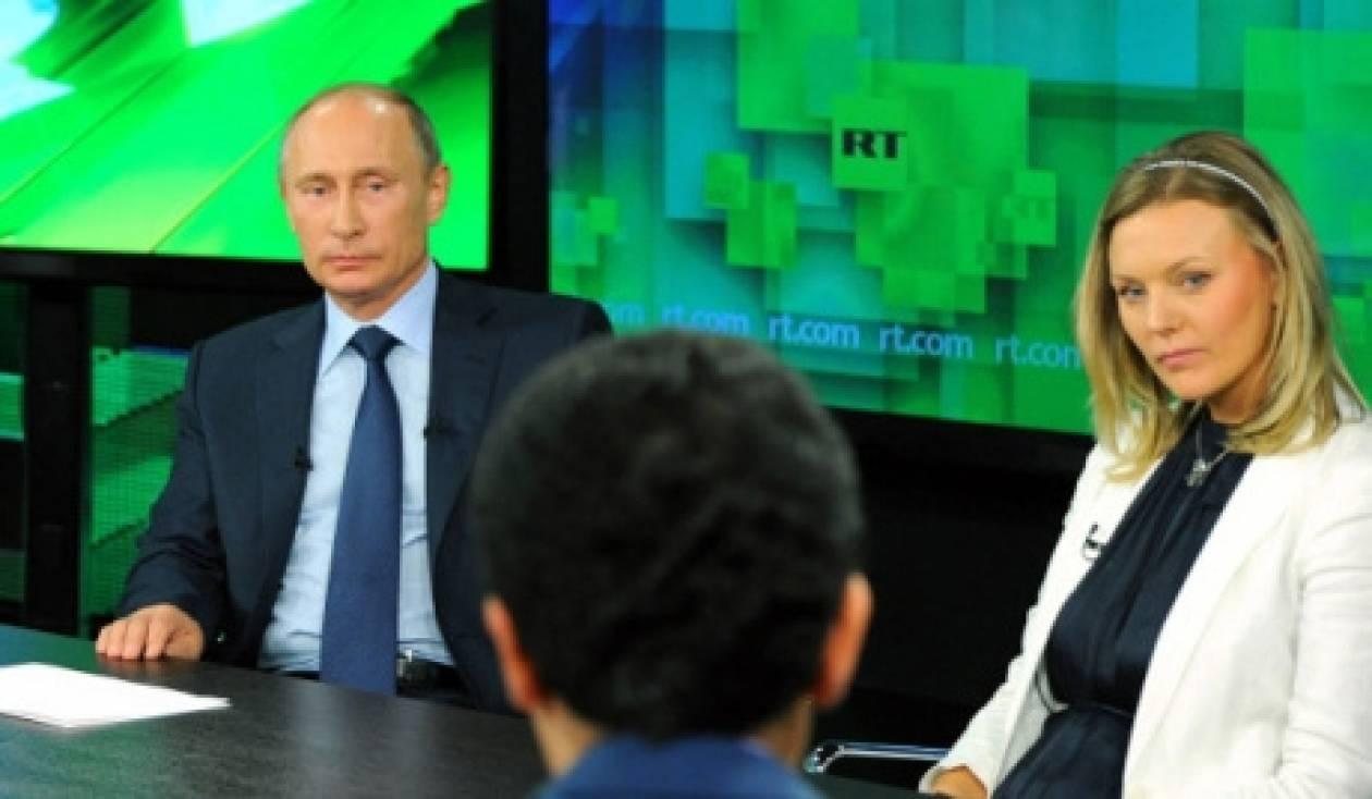 Πούτιν: Η Δύση δεν ξέρει τι να κάνει με τη Συρία