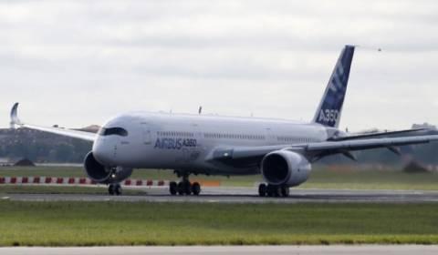 Το νέο Airbus 350 πραγματοποίησε την παρθενική του πτήση