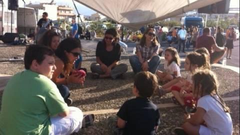 ΕΡΤ: Μικροί και μεγάλοι στο συλλαλητήριο στο Ηράκλειο