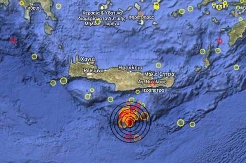 Σεισμός 3,9 Ρίχτερ στο Λιβυκό πέλαγος