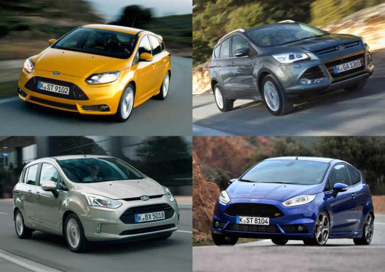 Ford Fiesta 1.0 από 9.990, Focus 1.0 ecoboost από 12.990