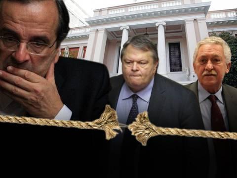Σε τεντωμένο σχοινί η τρικομματική κυβέρνηση