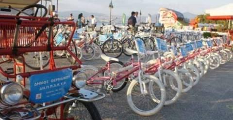Δήμος Θερμαϊκού: Εγκαινιάστηκε η δράση «Βόλτα με το ποδήλατο»