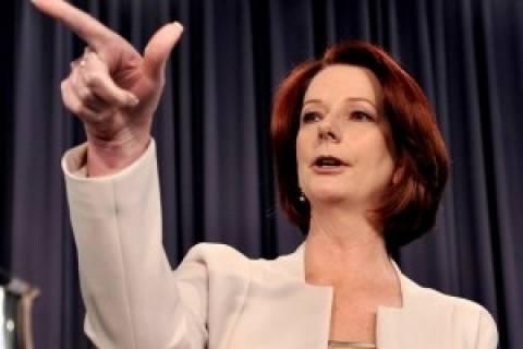 Αυστραλία: «Κατρακυλά» το κόμμα της Γκίλαρντ