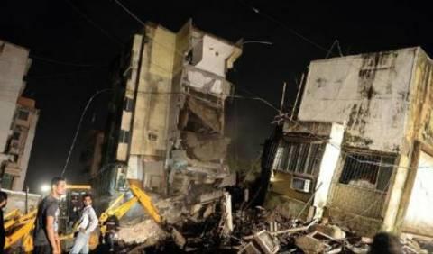 Ινδία: Κατάρρευση κτιρίου με νεκρούς στη Βομβάη