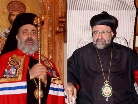 Αγρυπνία για τους δύο απαχθέντες ορθόδοξους  ιεράρχες
