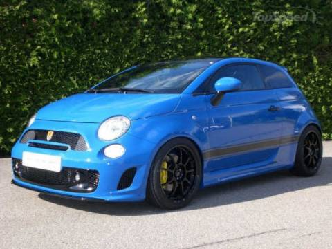 Fiat 500 G-TECH Sportster: Πάει με 260!