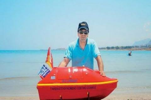 «Πρεμιέρα» του ναυαγοσώστη-ρομπότ στις παραλίες της Κρήτης