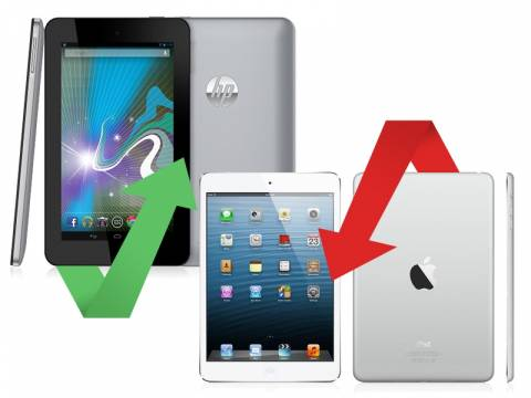 Η Apple χάνει και τη μάχη στα tablets