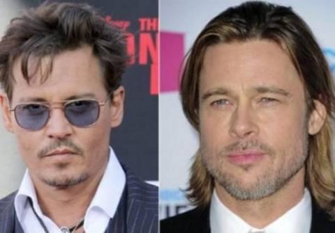 Γιατί ο Brad Pitt και ο Johnny Depp είναι στα μαχαίρια;