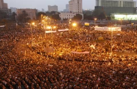 Η μεγαλύτερη συγκέντρωση στην Ταχρίρ από το 2011