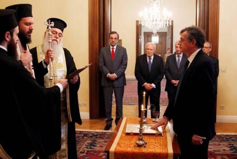 Ορκίστηκε ο νέος υφυπουργός Εξωτερικών Άκης Γεροντόπουλος