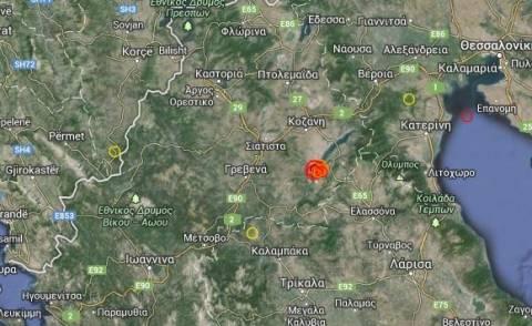 Αναστάτωση από τον ισχυρό σεισμό στην Κοζάνη