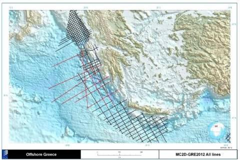 Στην δημοσιότητα ο χάρτης των σεισμικών ερευνών-Από αύριο τα δεδομένα