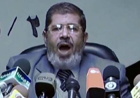 Μοχάμεντ Μόρσι: «Είμαι ο εκλεγμένος πρόεδρος της Αιγύπτου»