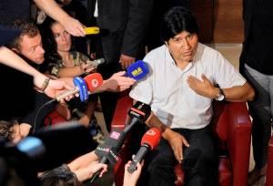 Την αλληλεγγύη εξέφρασαν οι ηγέτες της Νότιας Αμερικής στον Μοράλες