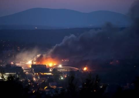 Καναδάς: Υπό έλεγχο η φονική πυρκαγιά στο Λακ-Μεγκαντίκ (βίντεο)