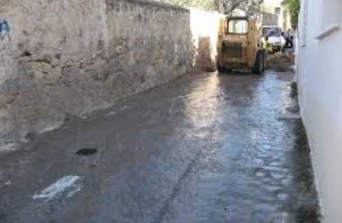 Πλημμύρισε η Πάτρα από διαρροή δεξαμενής