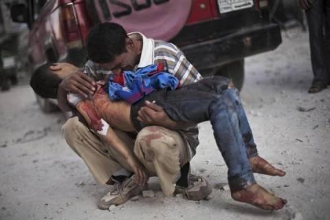 «Αποδείξεις» για χρήση χημικών από τους Σύρους αντάρτες