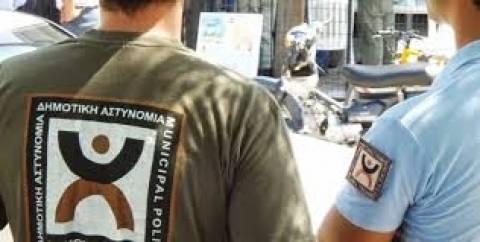 Θεσσαλονίκη: Μηχανοκίνητη πορεία των δημοτικών αστυνομικών