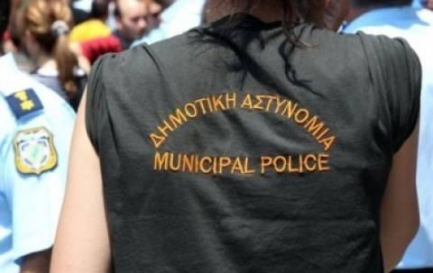 Θεσσαλονίκη: Ολοκληρώθηκε η πορεία των δημοτικών αστυνομικών