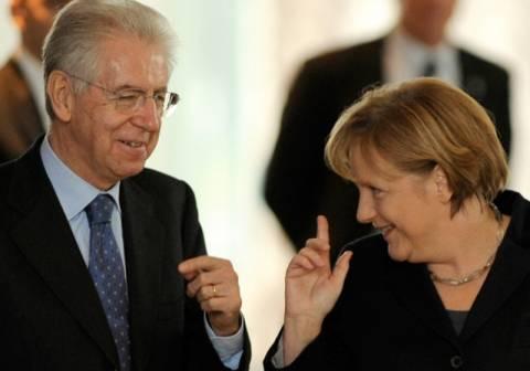 Έπαινοι Μόντι για το ρόλο της Μέρκελ στην περίπτωση της Ελλάδας