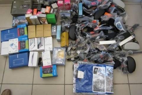 Κέρκυρα: Σύλληψη τεσσάρων ατόμων με «μαϊμού» προϊόντα