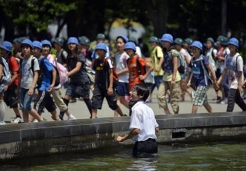 Φονικό κύμα καύσωνα στην Ιαπωνία