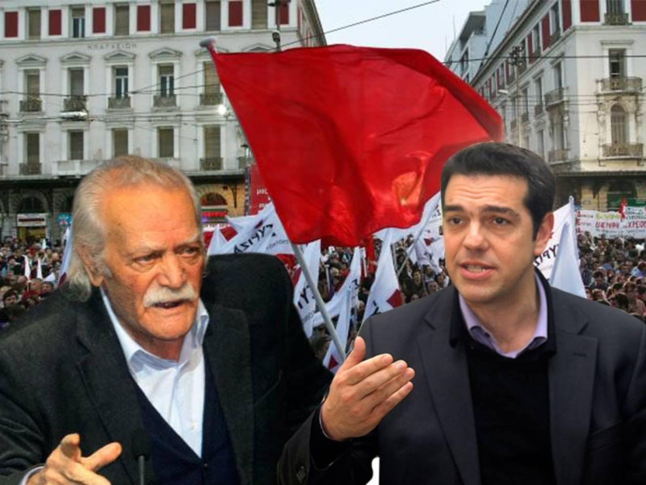 Αγκυλώσεις σε ΣΥΡΙΖΑ από τη διαφωνία Τσίπρα- Γλέζου