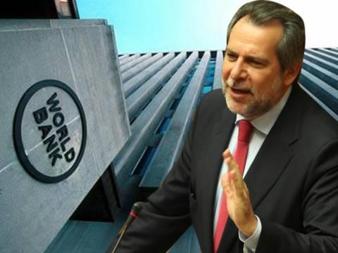 Γιατί ο Χ. Παπουτσής είναι «κόκκινο πανί» για την Παγκόσμια Τράπεζα
