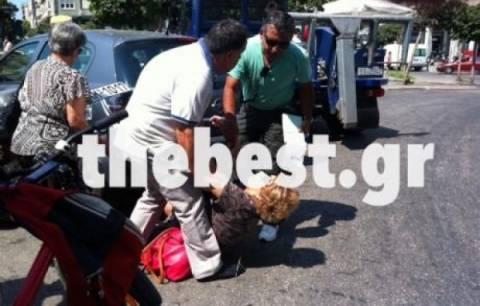 Αναστάτωση στην Πάτρα: Γυναίκα έπαθε αμόκ στη μέση του δρόμου (pics)