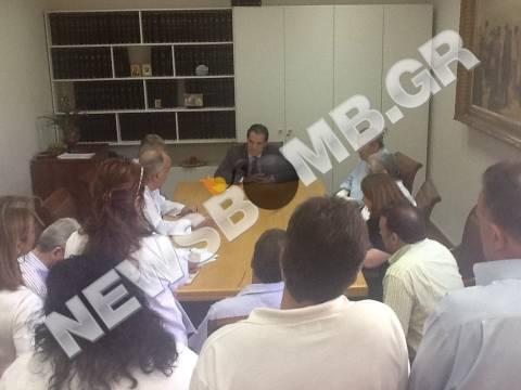 Επίσκεψη Γεωργιάδη σε Γενικό Κρατικό Νίκαιας και Αττικό