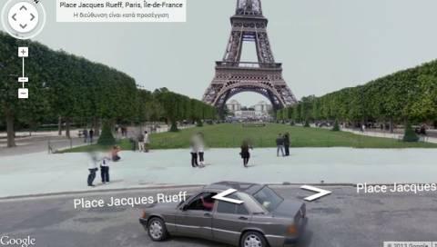 Εικονική ξενάγηση στον Πύργο του Άιφελ μέσα από την Google