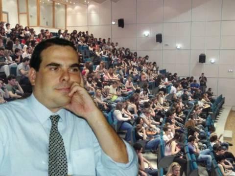 Ευσταθόπουλος: Η βία δεν αποτελεί επιλογή και δεν δίνει λύσεις