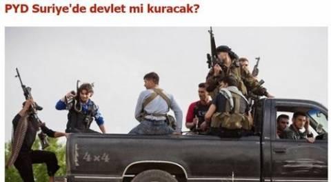 Τουρκία: «Οι Κούρδοι της Συρίας θα θεσπίσουν κυβέρνηση;»