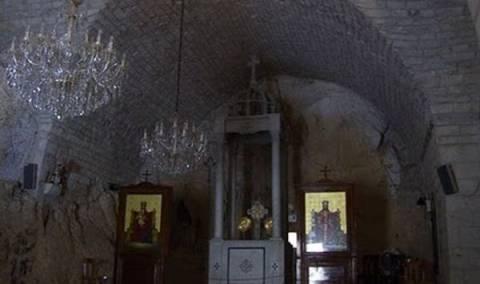 Παρεκκλήσι του Προφήτη Ηλία στη Συρία