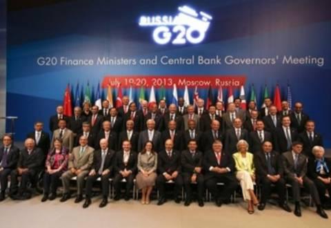 G20: Προτεραιότητα η απασχόληση και η ανάπτυξη