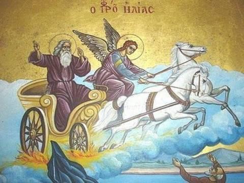 Γιατί όλες οι εκκλησίες του Προφήτη Ηλία βρίσκονται σε υψόμετρο