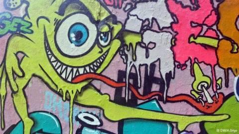 Γκράφιτι: Ανάμεσα στην τέχνη και την παρανομία
