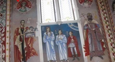 «Ιεροσυλία το αστέρι της Βεργίνας σε χριστιανικούς ναούς»